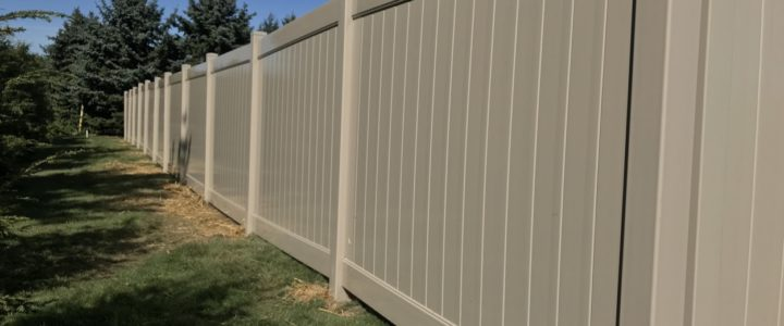 Privacy Fence in Brookwood Estates